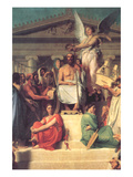 Apotheosis of Homer Premium Giclee Print by Jean-Auguste-Dominique Ingres