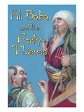 Ali Baba and the Forty Thieves Posters by Jason Pierce