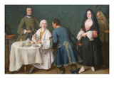 The Temptation Posters by Pietro Longhi