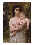 Little Brother Prints by William Adolphe Bouguereau