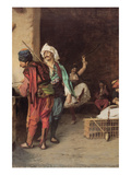 Café in Cairo Prints by Jean Leon Gerome