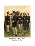 Big Guns - 1851 - 1858 - Preparing for War Posters by Henry Alexander Ogden