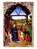 Birth of Christ ポスター : ペトルス・クリストゥス