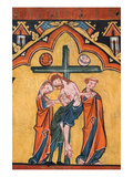 Tempera on Wood of the Descent from the Cross Prints