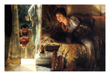 Welcome Footsteps Posters by Sir Lawrence Alma-Tadema