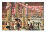 Caracalla and Geta Print by Sir Lawrence Alma-Tadema