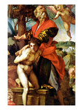 Sacrifice of Isaac Posters by Andrea del Sarto