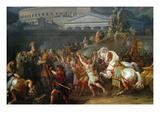 The Triumph of Aemilius Paulus, Poster von Carle Vernet