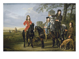 Starting the Hunt Posters by Aelbert Cuyp
