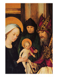 Maria and Archpriest with the Christ Posters by Hans Holbein the Younger
