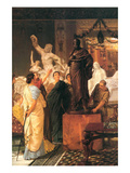 Sculpture Gallery Prints by Sir Lawrence Alma-Tadema