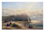 Coastal View Premium Giclee Print by Antoine van Deventer