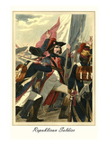 Republican Soldier Poster by L. Massard