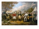 Surrender of General Burgoyne Posters by John Trumbull