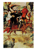 Procession to Cavalry - Detail Photo by Pieter Breughel the Elder