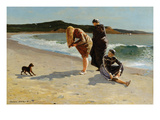 Eagle Head, Manchester, Massachusetts at High Tide Prints by Winslow Homer