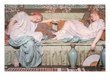 Apples Print by Albert Joseph Moore