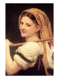 Returned from the Market Posters by William Adolphe Bouguereau