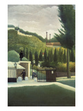 The Toll Gate Prints by Henri Rousseau