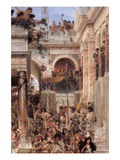 Spring Poster by Sir Lawrence Alma-Tadema