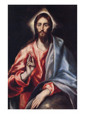 Christ the Saviour Láminas por  El Greco
