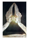 Christ in the Sepulcher Poster von William Blake