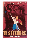Catalans - September 11, 1714 - 1938 Premium Giclee Print