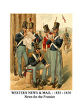 Western News and Mail - 1835 - 1850 - News for the Frontier Posters by Henry Alexander Ogden