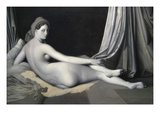 Odalisque in Grisaille Prints by Jean-Auguste-Dominique Ingres