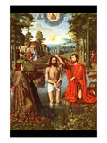 Baptism of Christ Posters by Jacques-Louis David