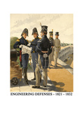 Engineering Defenses - 1821 - 1832 Posters by Henry Alexander Ogden