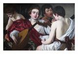The Musicians Plakaty autor Caravaggio