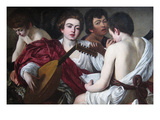 The Musicians Prints by  Caravaggio