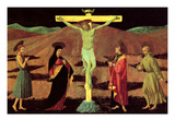 Christ at the Cross Affischer av Paolo Uccello