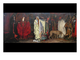King Lear, Act 1 Scene 1 Posters by Edwin Austin Abbey