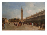 Piazza San Marco Prints by Francesco Guardi