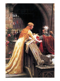 God Speed Fair Knight Poster by Edmund Blair Leighton