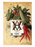 Vilmorin Catalog 1897 Posters by Philippe-Victoire Leveque de Vilmorin