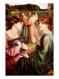 The Bower Meadow Prints by Dante Gabriel Rossetti