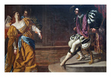Esther before Ahasuerus Prints by Artemisia Gentileschi