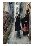 A Street in Venice Posters by John Singer Sargent