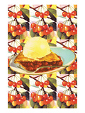 Cherry Cherry Cherry Pie Print by Sara Pierce