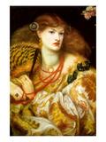 Monna Vanna Plakater af Dante Gabriel Rossetti