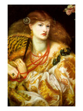 Monna Vanna Poster by Dante Gabriel Rossetti