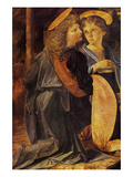 Christs Baptism Detail Posters by  Leonardo da Vinci