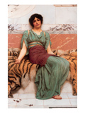 Sweet Dreams Print by John William Godward