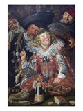 Makers of Shrovetide Poster von Frans Hals