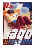 A Loafer Is Fascist Affiches par  J.D.P.
