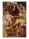 Work Print by Ford Madox Brown