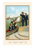 Captain, Commanding Admiral and Naval Cadet Prints by G. Arnold